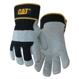 CAT-Leather-Gloves