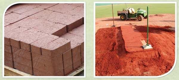 Home Plate/Mound Clay Bricks