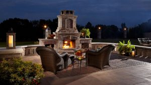unilock outdoor living
